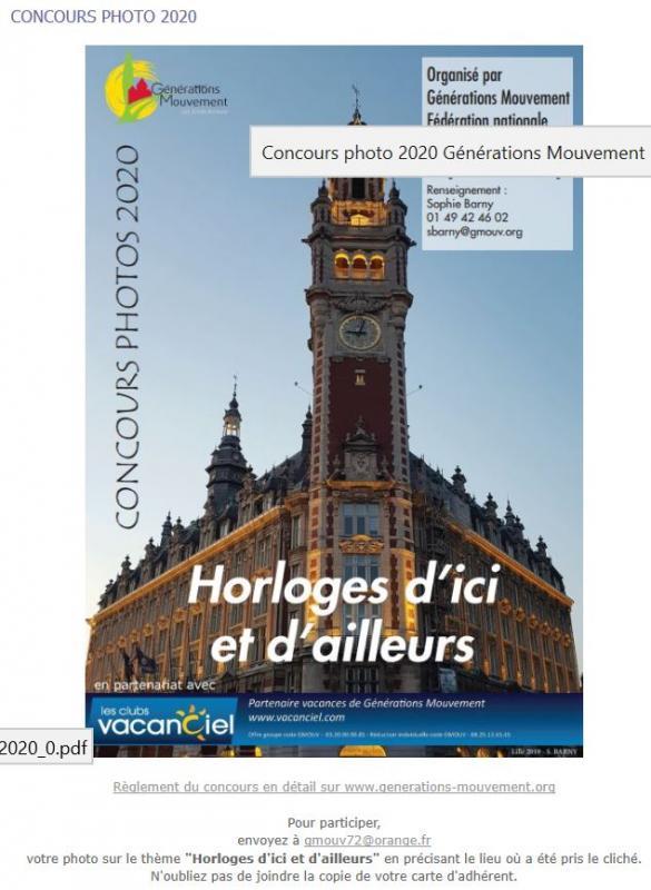 2019 concours photos HORLOGES D'ICI ET D'AILLEURS