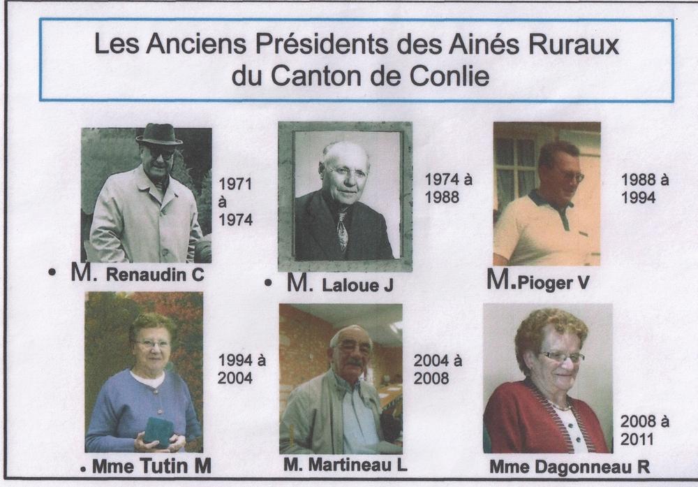 PLAQUE DE PRESIDENTS