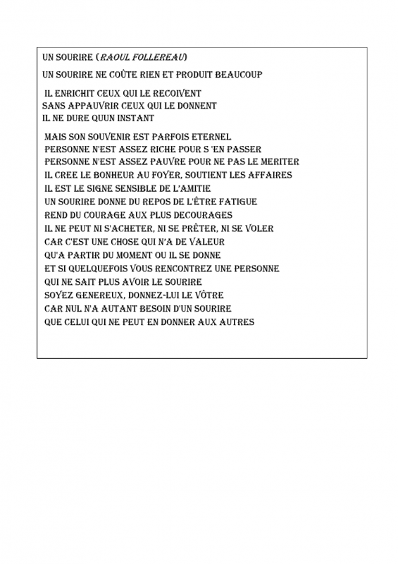 Christiane martin poeme